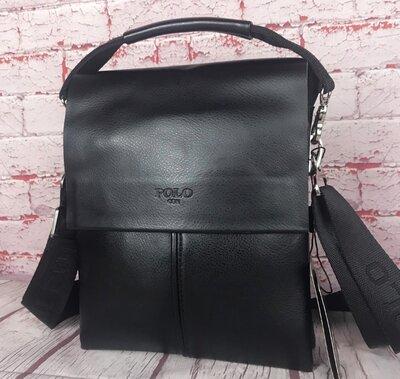 Мужская сумка-планшет Polo с ручкой. Барсетка мужская. Размер В см 25 на 20 Кс78