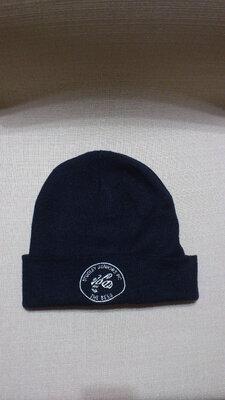 Шапка зимняя мужская акриловая синяя Шапка зимова чоловіча синя Result Headwear