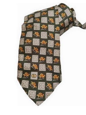 Шелковый галстук valentino /4579/