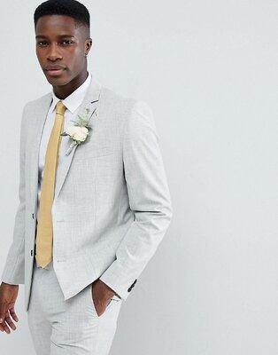 Новый мужской светлый пиджак размер 40R