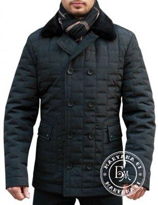 Мужская классическая куртка daniela ryale / черная