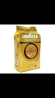 Кофе Lavazza Qualita Oro в зернах 1кг Италия