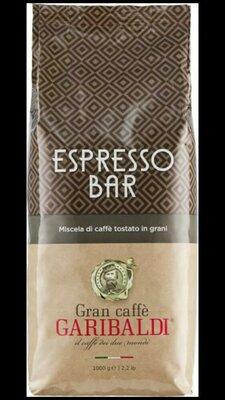 Кофе в зернах Garibaldi Espresso Bar 1 кг. Италия