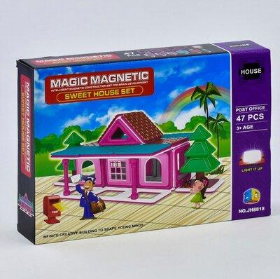 Конструктор магнитный Почта, 47 деталей