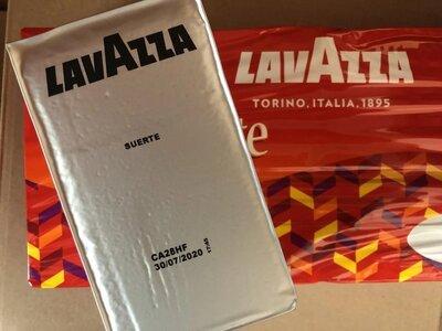 Кофе молотый Lavazza Suerte 250гр. Италия