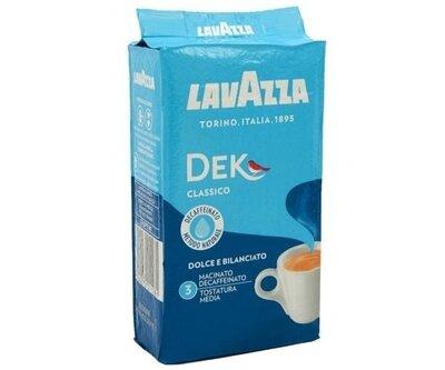 Кофе Lavazza Dek молотый без кофеина 250 г Италия
