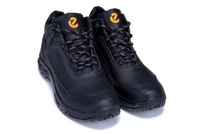 Продано: Мужские зимние кожаные тёплые ботинки Ecco