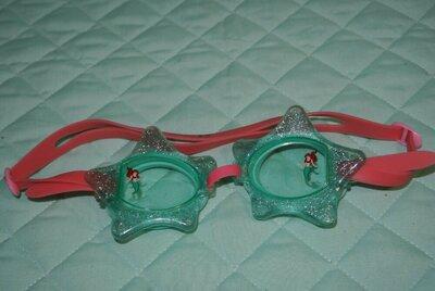 очки для плавания деткие русалочка ариэль