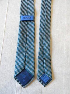 Joop мужской узкий галстук 100% шелк италия