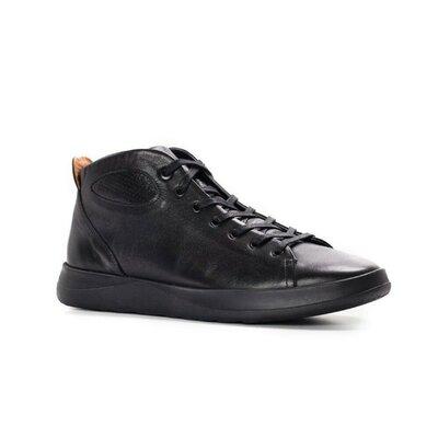 Новинка, натуральные кожаные мужские демисезонные ботинки кеды кроссовки кроссы спортивные удобные с