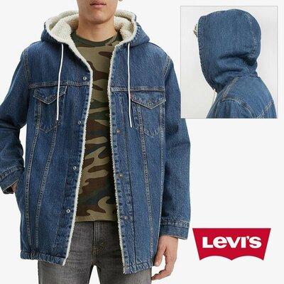 Levis denim sherpa куртка мужская оригинал из сша