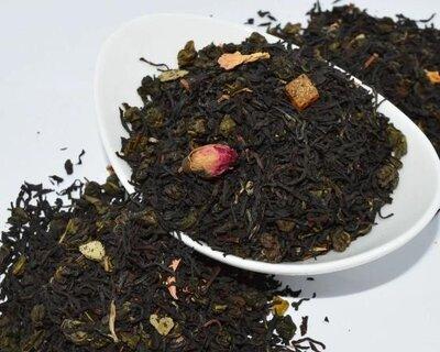 Чай черный 1002 ночь Абрикос Манго, цена 50грн 100 грамм