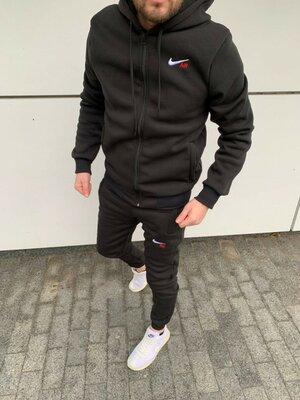 Продано: Костюм Nike чёрный цвет