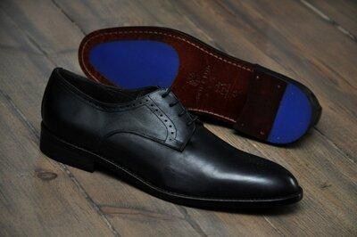 Ortiz & Reed , Испания. Оригинал. Брендовые мужские туфли. р. 45 - 31,0 см.
