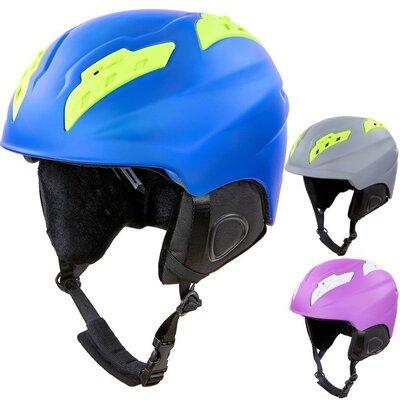 Шлем горнолыжный с механизмом регулировки Moon MS-96 размер M-L 55-61см