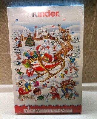 Распродажа остатков Киндер kinder адвент календарь