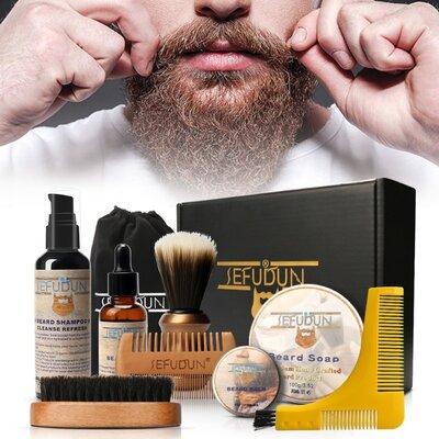 Набор для ухода за бородой SEFUDUN 8 предметов