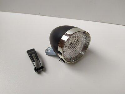 Продано: Велосипедная передняя LED - фара в ретро стиле