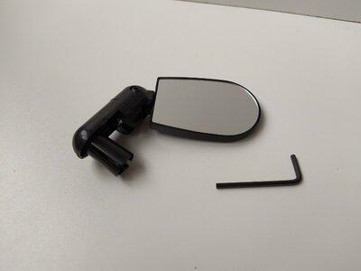 Велосипедное зеркало заднего вида в трубу руля