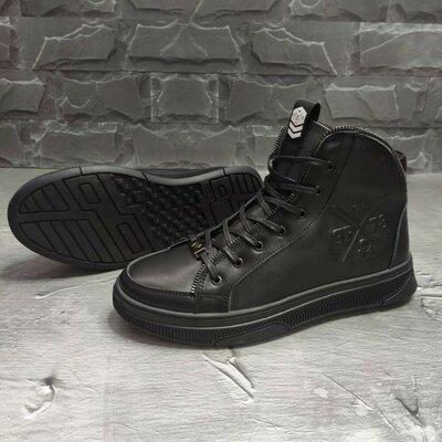 Продано: Зимние ботинки PHILIPP PLEIN Люкс качество Верх выполнен из высококачестве
