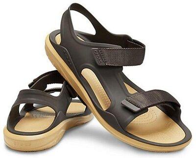 Оригинал. сандалии crocs men´s swiftwater expedition sandal, цвет - espresso