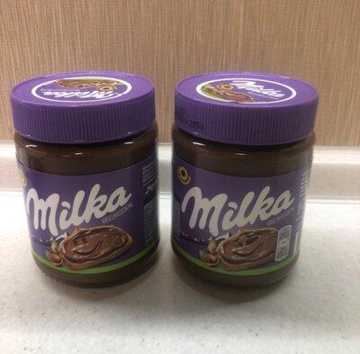 Milka Милка шоколадно-ореховая паста 350 грамм