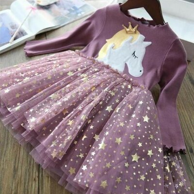 Сукня для дівчинки Crown фіолет