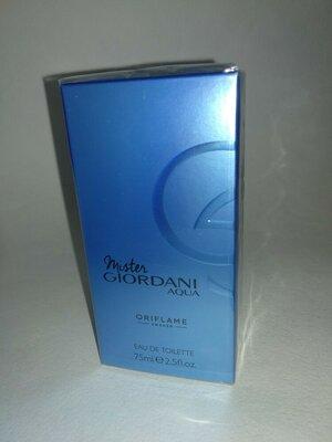 Продано: Мужская туалетная вода Mister Giordani AQVA Oriflame Орифлейм мистер Джордани Аква код 35663