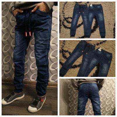 Стильные джинсы джоггеры Seagull р. 140,146,152,164