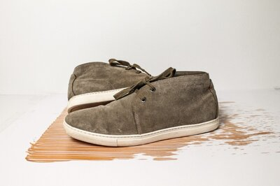 Ботинки Hugo boss оригинал натур.замша 43-44 размер 28,5 см