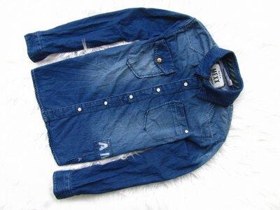 Продано: Качественная джинсовая рубашка Mexx