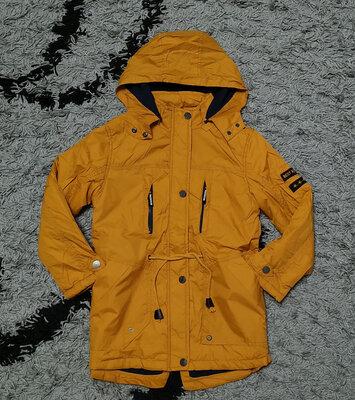 Яркие деми куртки парки р.134,140,146