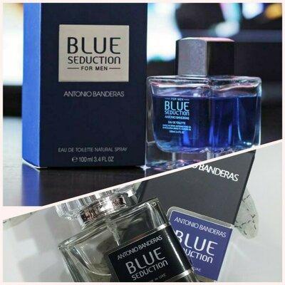 Мужские Antonio Banderas Blue Seduction for men, тестер 63 мл, Парфюм Антонио Бандерас мэн, Тестер