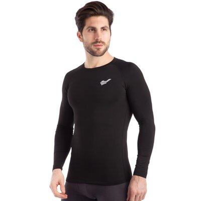 Термобелье мужское футболка с длинным рукавом лонгслив Jason 923 размер M-XXL 165-185см