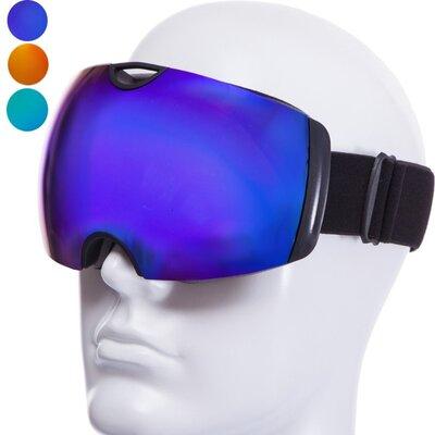 Очки горнолыжные Sposune HX036 двойные линзы, антифог 3 цвета