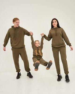 Демисезонные костюмы для всей семьи Family Look. Все размеры