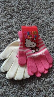 Набор перчатки Китти Дисней.