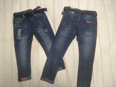 Стильные джинсы на 116-140. Венгрия Seagull.