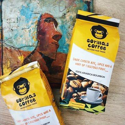 Кофе Gorilla s Coffe Африка - -4 степени прожарки