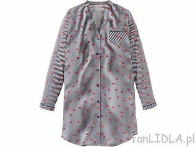 Теплое байковое домашнее платье-рубашка, халат, пижама esmara