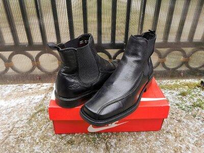 43 р. кожаные демисезонные челси ботинки Panama Jack Оригинал