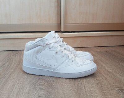 Мужские кроссовки Nike Priority Mid 44 р кожаные, белые, весенние