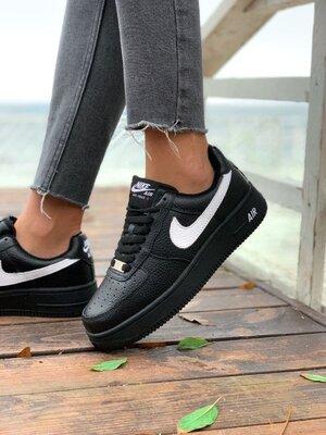Женские зимние кроссовки Nike AF1 Fur | Распродажа