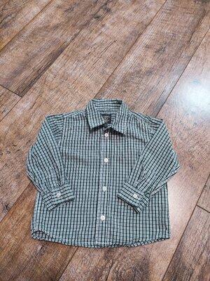 Рубашка, H&M, L.O.G.G., р.86-92, 12-18мес.