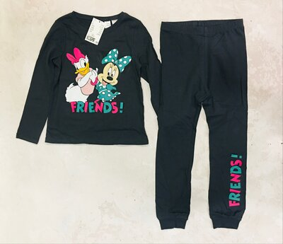Нова піжама пижамка нм хм h&m minnie mouse daisy duck friends 116 128