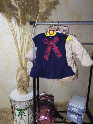 Продано: 3-9 мес Фактурное платье туника Next