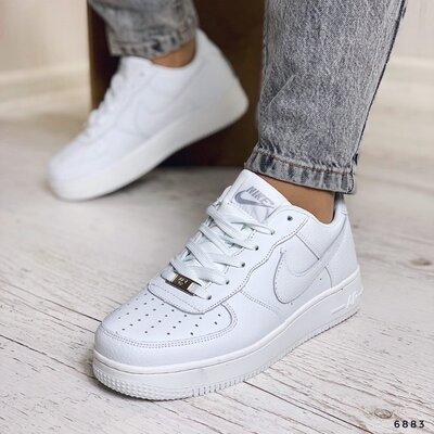 Женские кожаные кроссовки Nike Air