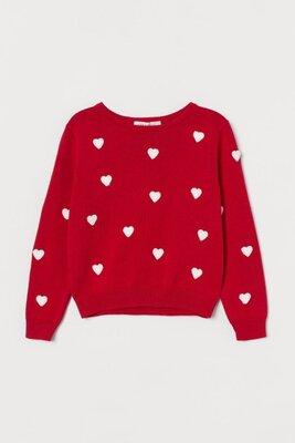 Продано: Джемпер H&M для девочек 8-10 лет