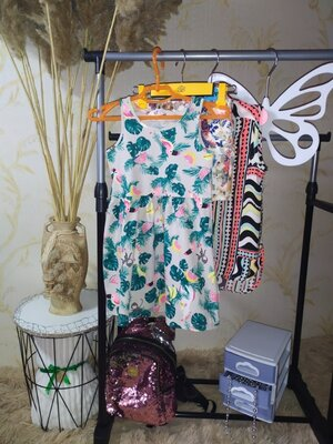 2-4 года Трикотажное платье H&M новое сток