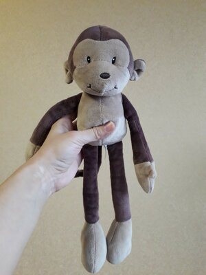 Обезьянка. Мавпа. Обезьяна мягкая игрушка